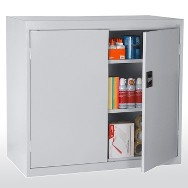 Elite counter height storage cabinet