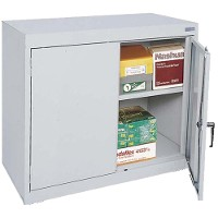 Elite Desk Height Storage Cabinet