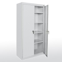 Elite Desk Height Metal Storage Cabinets Counter Combination Steel Bulk Rack