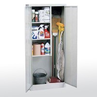 janitorial supply storage cabinets