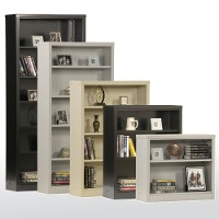 Snapit bookcases w adjustable shelves