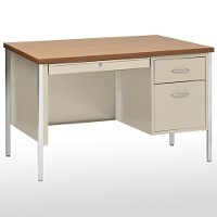 500 series single pedestal desk