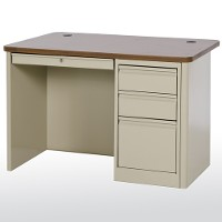 HD single pedestal teachers desk