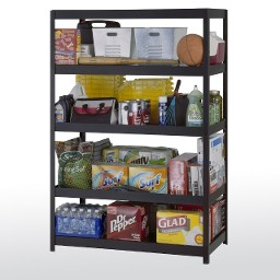 Premier boltless steel shelving