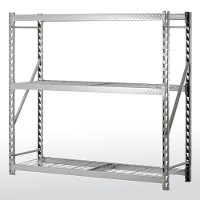 Treadplate welded rack - 3 level wire