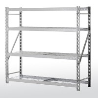 Treadplate welded rack - 4 level wire