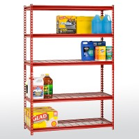 z-beam boltless steel shelving
