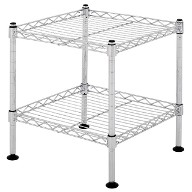 Light duty wire shelving - 2 tier