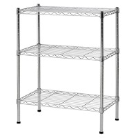 Light duty wire shelving - 3 tier