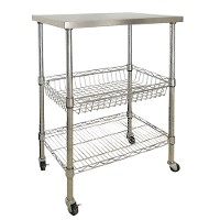 Stainless steel wire cart