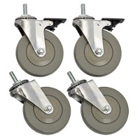 Casters (4 in.) for heavy duty wire shelving