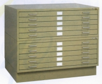 Stackable Flatfile Cabinets